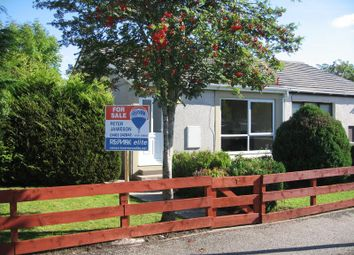 Thumbnail 1 bed semi-detached bungalow for sale in Lochiel Gardens, Inverness