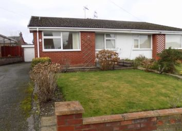 Thumbnail 2 bed semi-detached bungalow to rent in Mayfield Drive, Buckley, 2Pn.
