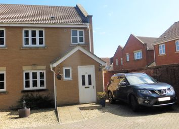 Thumbnail 3 bedroom semi-detached house for sale in Hinckley Close, Weston Super Mare