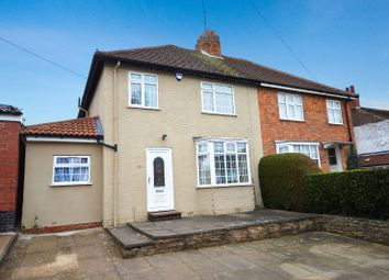 Thumbnail 3 bed semi-detached house for sale in Queen Street, Oadby, Leicester