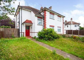 Thumbnail 4 bed semi-detached house for sale in Great Cambridge Road, Cheshunt, Waltham Cross, Hertfordshire