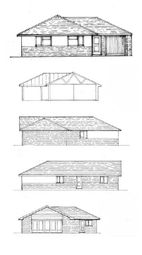 Thumbnail 3 bedroom detached bungalow for sale in Fosse Close, Enderby, Leicester