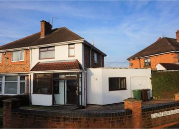 Thumbnail 3 bed semi-detached house for sale in Croft Down Road, Solihull