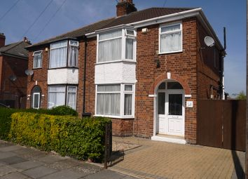Thumbnail 3 bed semi-detached house for sale in Hollington Road, Leicester