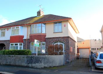 Thumbnail 3 bedroom semi-detached house for sale in Central Park Avenue, Mutley, Plymouth