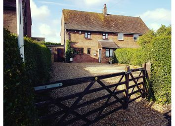 Thumbnail 3 bed semi-detached house for sale in Common Road, Kensworth