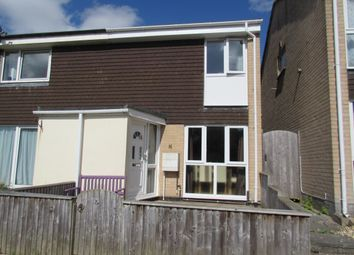 Thumbnail 2 bed terraced house to rent in Downfield Way, Plympton, Plymouth