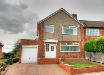 Thumbnail 3 bed semi-detached house for sale in Coquet Grove, Throckley, Newcastle Upon Tyne