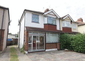 Thumbnail 3 bed semi-detached house for sale in Hamilton Avenue, North Cheam, Sutton