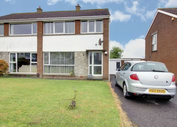 Thumbnail 3 bed semi-detached house for sale in Onslow Gardens, Bangor