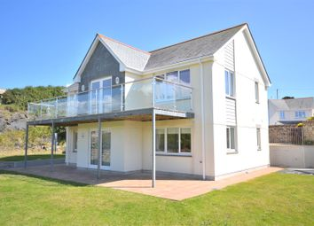 Thumbnail 4 bed detached house for sale in Meaver Road, Mullion, Helston
