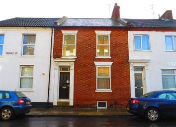 Thumbnail 4 bed terraced house for sale in Freehold Street, Northampton