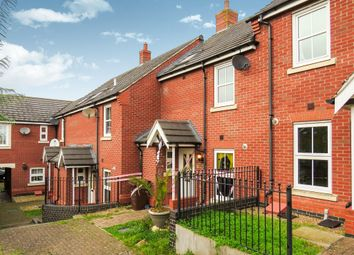 Thumbnail 3 bedroom terraced house for sale in Farnborough Close, Corby