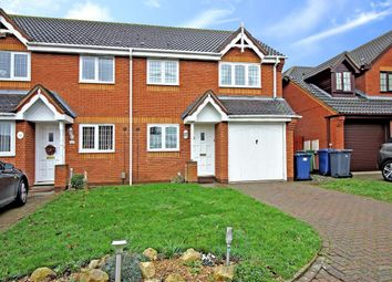Thumbnail 3 bed semi-detached house to rent in Boretree Way, Huntingdon