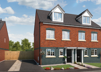 "Thumbnail 3 bedroom property for sale in ""The Willow At Lyme Gardens, Stoke-On-Trent"" at Wellington Road, Hanley, Stoke-On-Trent"