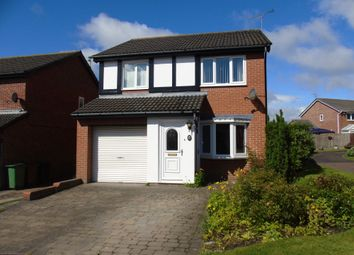Thumbnail 3 bed detached house for sale in Alcester Close, Stakeford, Choppington