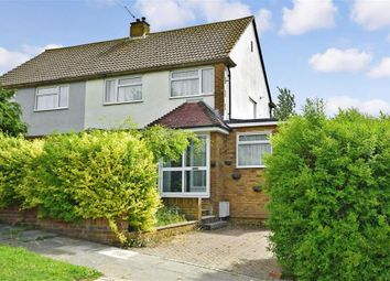 Thumbnail 4 bed semi-detached house for sale in Donnington Road, Woodingdean, Brighton, East Sussex