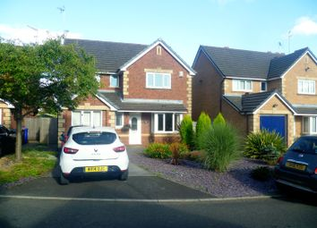 Thumbnail 4 bed detached house to rent in Keystone Close, Salford