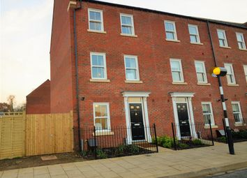 Thumbnail 4 bed end terrace house for sale in Pioneer Way, Kingsmere, Bicester