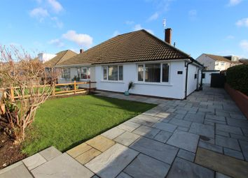 Thumbnail 2 bed semi-detached bungalow for sale in Brookside Crescent, Caerphilly