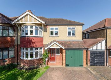 Thumbnail 4 bed semi-detached house for sale in Wrayfield Road, Cheam, Surrey