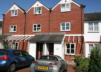 Thumbnail 3 bed town house to rent in Tappers Close, Topsham, Exeter
