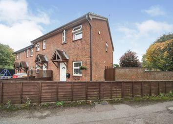 Thumbnail End terrace house for sale in Gainsborough Drive, Houghton Regis, Dunstable
