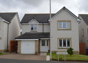 Thumbnail 4 bed detached house for sale in Blackadder Way, Chirnside, Berwickshire