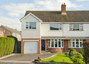 Thumbnail 3 bed semi-detached house for sale in Barley Croft, Whittington, Lichfield