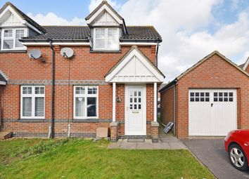 Thumbnail 2 bed end terrace house for sale in Spence Close, Hawkinge, Folkestone