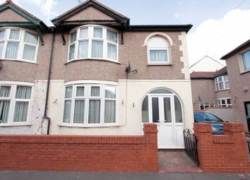Thumbnail 3 bed semi-detached house for sale in Aquarium Crescent, Rhyl