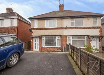 Thumbnail 3 bed semi-detached house for sale in Asquith Street, Mansfield