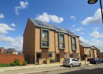 Thumbnail 4 bed town house for sale in Boswell Street, Upton, Northampton