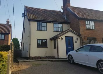 Thumbnail 1 bedroom semi-detached house to rent in Ipswich Road, Newbourne, Woodbridge