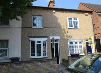 Thumbnail 3 bedroom terraced house to rent in Howbury Street, Bedford