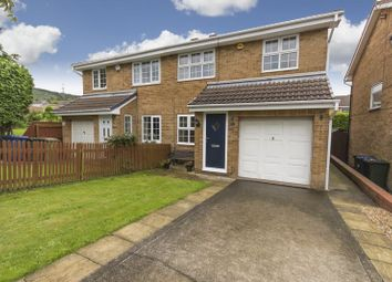 Thumbnail 3 bed semi-detached house for sale in Ashbourne Close, Eston, Middlesbrough