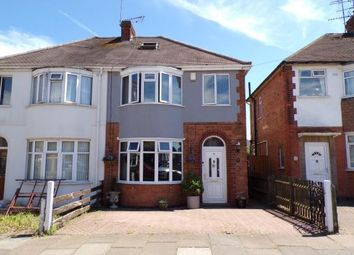 Thumbnail 3 bed semi-detached house for sale in Bretby Road, Aylestone, Leicester, Leicestershire