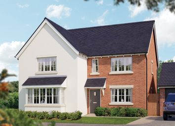 "Thumbnail 5 bed detached house for sale in ""The Arundel"" at Crewe Road, Haslington, Crewe"