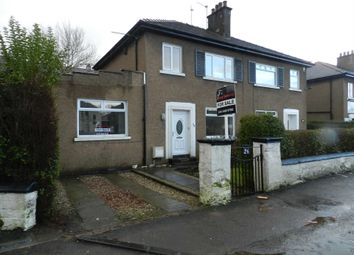 Thumbnail 3 bed semi-detached house for sale in Croftfoot Road, Croftfoot, Glasgow