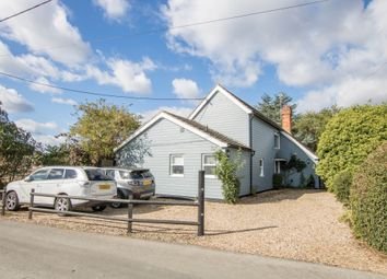 Thumbnail 4 bed detached house for sale in Sages End Road, Helions Bumpstead, Haverhill