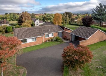 Thumbnail 4 bedroom detached bungalow for sale in Furlong Green, Trull, Taunton