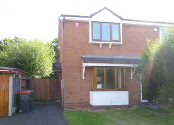 Thumbnail 2 bed semi-detached house for sale in Woodrush Heath, The Rock, Telford
