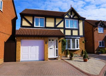Thumbnail 4 bed detached house for sale in Godwin Road, Swindon