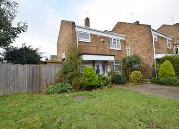 Thumbnail 3 bed end terrace house for sale in Brockles Mead, Harlow