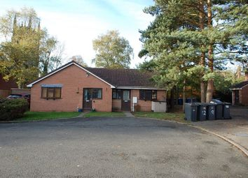 Thumbnail 2 bed bungalow to rent in All Saints Croft, Burton Upon Trent, Staffordshire