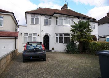 Thumbnail 4 bed semi-detached house to rent in Gallants Farm Road, Barnet