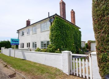 Thumbnail 3 bed semi-detached house for sale in Grange Lane, Nocton Heath, Lincoln