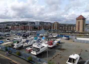 Thumbnail 2 bed flat for sale in St Stephens Court, Marina, Swansea
