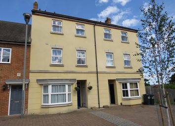 Thumbnail 4 bed town house for sale in Poppy Mead, Kingsnorth, Ashford