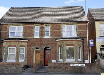 Thumbnail 2 bed flat for sale in Farnham Road, Guildford